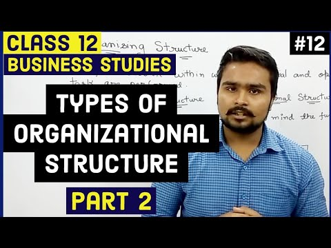 #12,Types of organisational structure(Class 12 business)