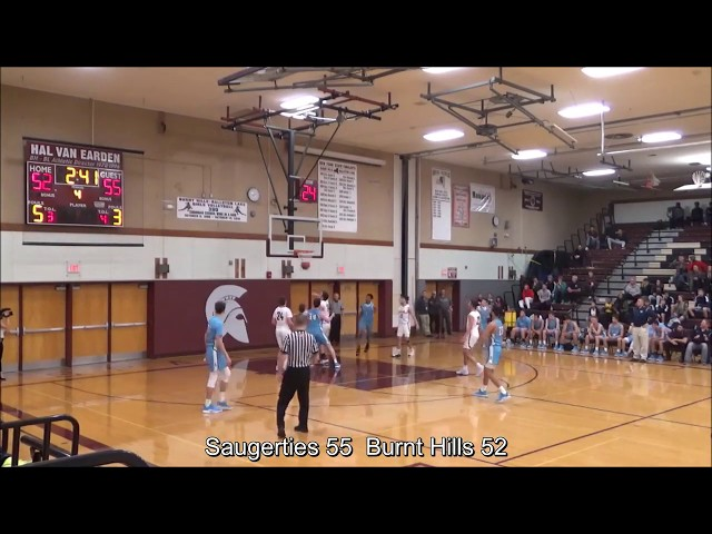 Game Highlights Boys' Varsity: Saugerties 73 vs Burnt Hills 71 (F/OT)