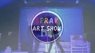 Скачать Spray Art Show In HD Bar Николай Хоменко