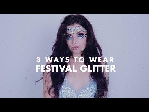 Festival Glitter - Original Song   3 ways to wear