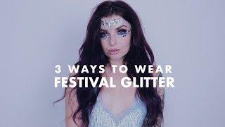 festival glitter   original song 3 ways to wear