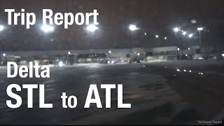 TRIP REPORT - Delta Airlines (MD-90), St. Louis to Atlanta