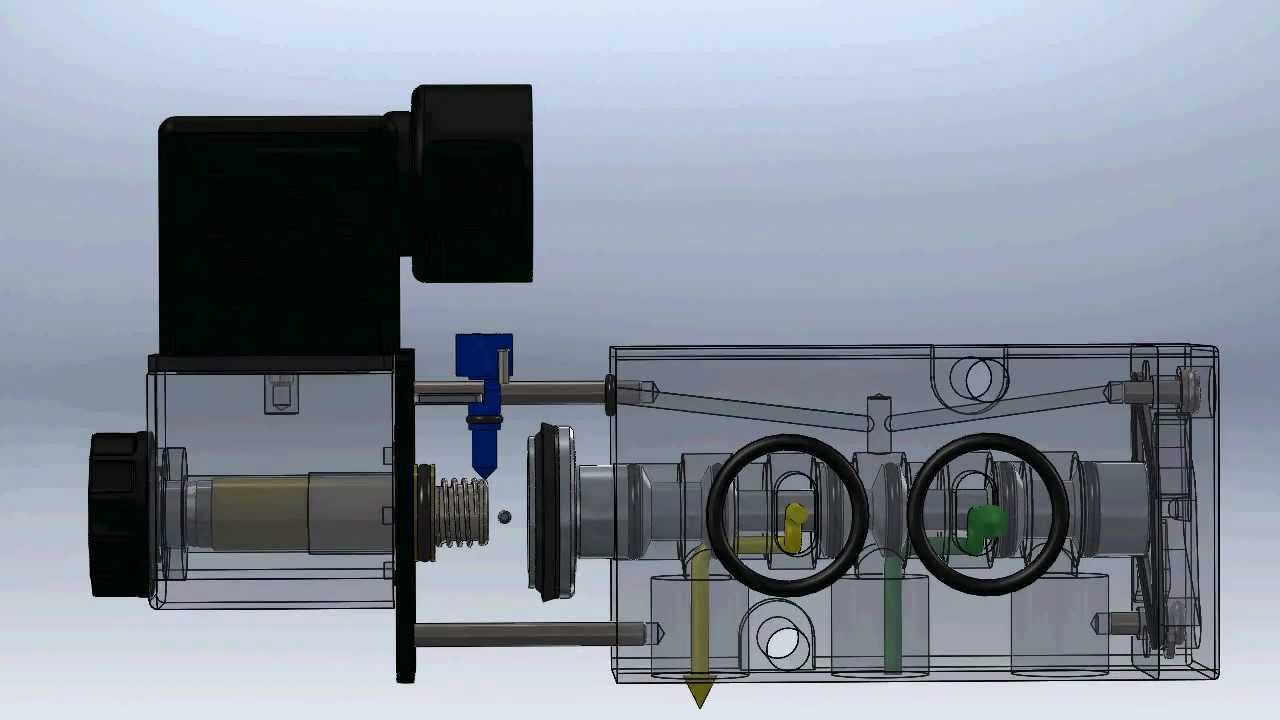 Solenoid Valve Operation Youtube