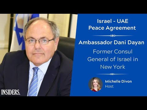 Ambassador Dani Dayan - Former Consul General Of Israel In New York - Israel - UAE Peace Agreement