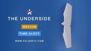 Fold 'N Fly ✈ The Underside Paper Airplane