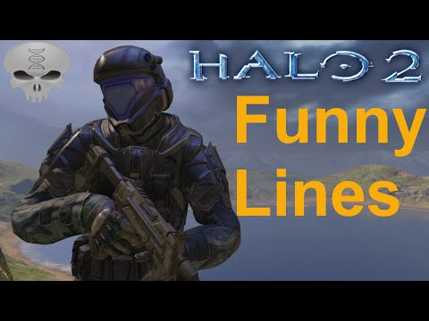 Lines of Halo - Halo 2 Marines/ODST + Extras (Funny Dialogue)
