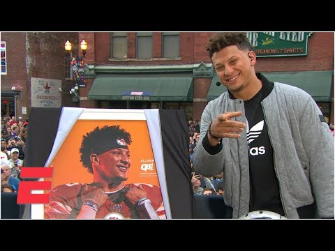 Chiefs' Patrick Mahomes on 'Madden 20' cover   College GameDay