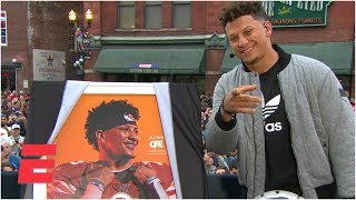 Chiefs' Patrick Mahomes on 'Madden 20' cover | College GameDay