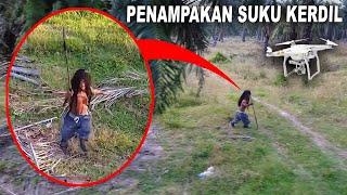 TEREKAM DRONE | MANUSIA KECIL DI KEBUN SAWIT | Serem Banget | Apakah Dia Suku Mente