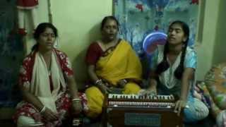 SONG- ISHWAR ALLAH TARE JAHAN MAIN NAFRAT HAI JUNG , BY ILORA MANDAL GROUP ON( 08- 06 -2008)