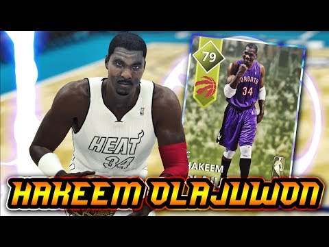 NBA 2K18 MyTEAM GOLD HAKEEM OLAJUWON GAMEPLAY!! ONE OF THE BEST GOLD PLAYERS IN NBA 2K18 MyTEAM!!