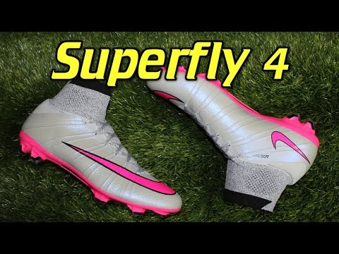 Nike Mercurial Superfly 4 Silver Storm - Review + On Feet