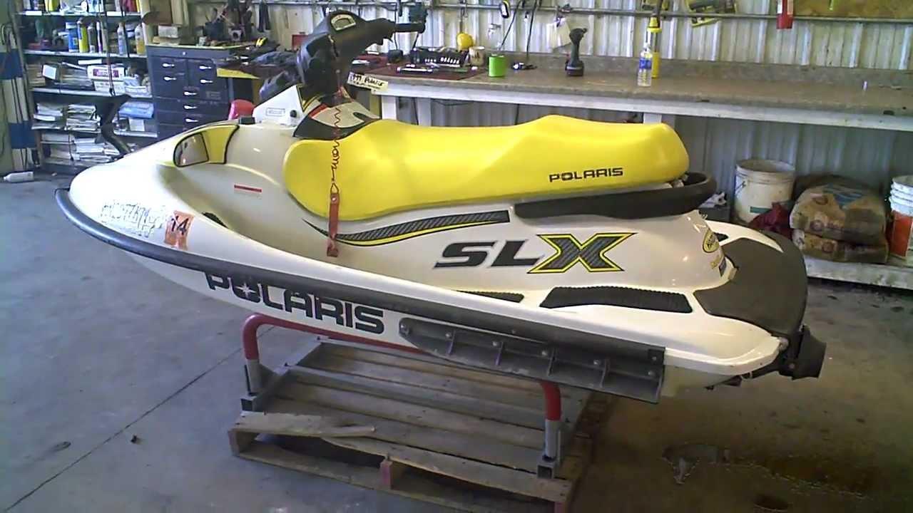 Polaris Jet Ski >> Lot 1299d 1999 Polaris Slx 1050 Jet Ski Running