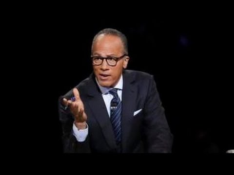 Scoring Lester Holt during Trump, Clinton debate