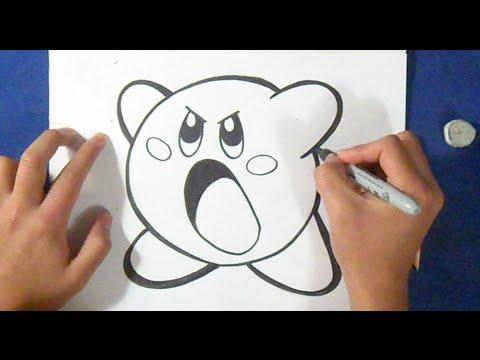 Cmo dibujar a Kirby  YouTube