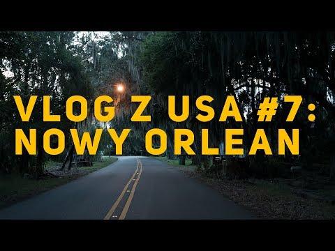 AMERICAN HORROR STORY, PREACHER, THE ORIGINALS, TREME: LOKACJE W NOWYM ORLEANIE - VLOG #7 Z USA