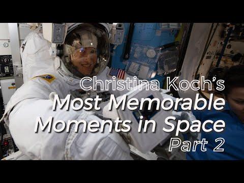 Christina Koch's Memorable Moments: Part 2