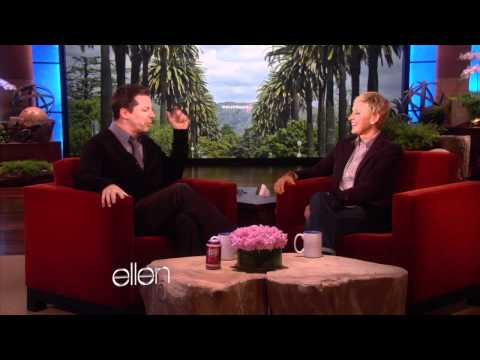 Sean Hayes Goofs Off with Ellen!