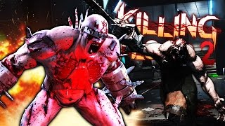 KILLING FLOOR 2 FUNNY MOMENTS | Psycho Death Tank (Gameplay Montage)