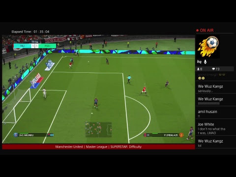 PES 2018 | MANCHESTER UNITED | Superstar | CHAMPIONS LEAGUE FINAL v REAL MADRID