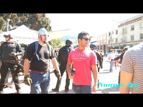 Interviewing at Milo Yiannopoulos Event at Berkeley (Part 1 feat. Sargon of Akkad, Fleccas Talks)