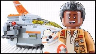 LEGO Star Wars Brick Building STOP MOTION | Transporter Pod | LEGO Star Wars Sets | By LEGO Worlds