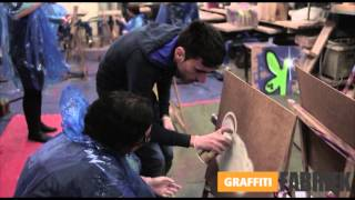 graffiti-fabriek - graffiti workshop vrijgezellenfeestje