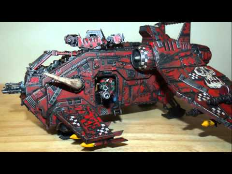 WH40k Warhammer 40k Ork Drop ship conversion