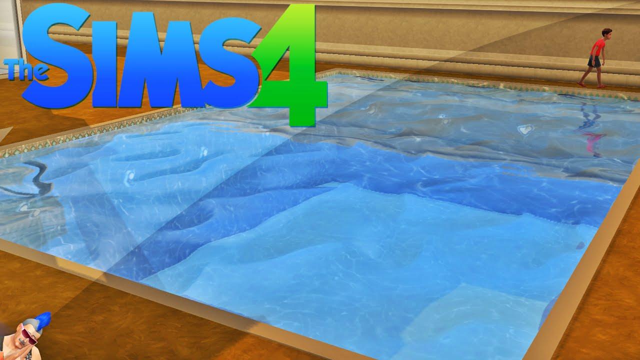 The sims 4 piscina na mans o youtube for Piscina sims 4