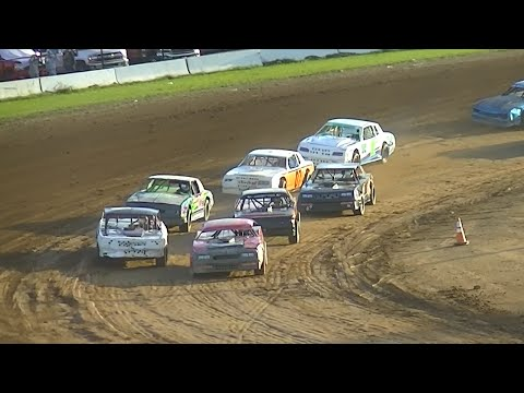 Pure Stock Heat Two | McKean County Raceway | Fall Classic | 10-10-15