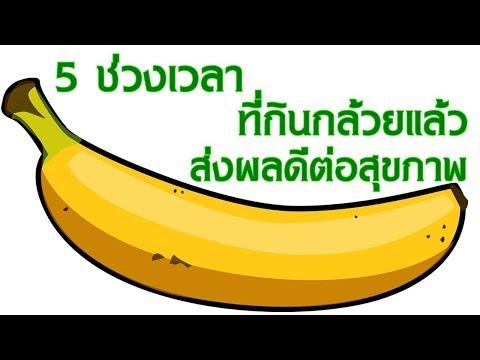 กินกล้วยเวลาไหนดีที่สุด 5  ช่วงเวลา ที่รับประทานกล้วยแล้ว ส่งผลดีต่อสุขภาพ