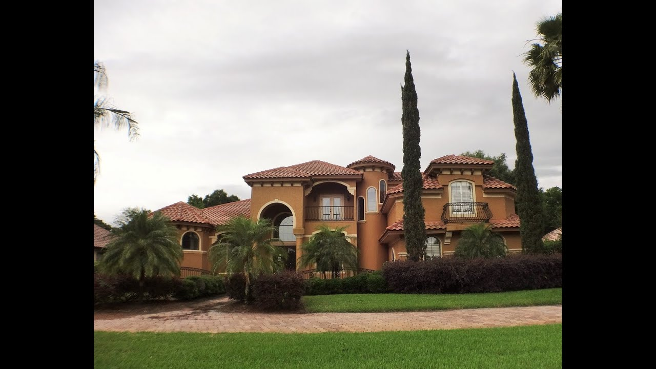 Bank owned luxury mansion for sale in windermere florida for Luxury mansions for sale in florida