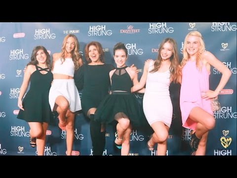 Exclusive Red Carpet Behind The Scenes With Sally Miller @ The High Strung Movie LA Premiere