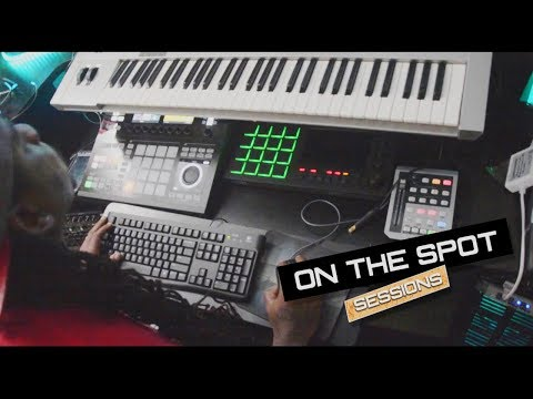 Nicki Minaj Producer Makes a Beat ON THE SPOT - Snipe Young ft Eamon and Drizzy Dro