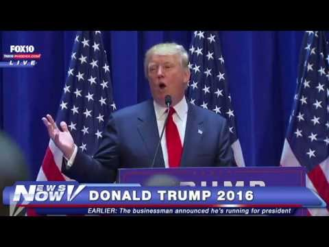 FNN: Donald Trump Announces He's Running for President