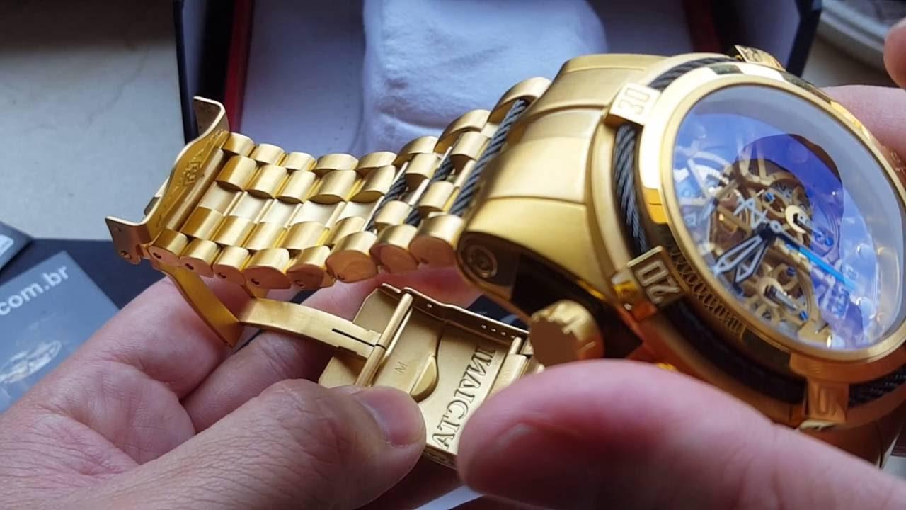 88dbb1c7fdb Relógio invicta Bolt zeus cronógrafo cronômetro suiço 12903 COSC original  na altarelojoaria - YouTube