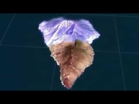 El Megatsunami que vendrá, La isla de La Palma sufre el mayor enjambre sismico registrado.