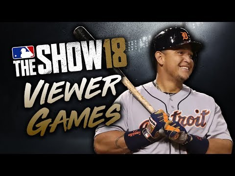 Viewer Games! $10 PSN Prize?! MLB The Show 18 Diamond Dynasty