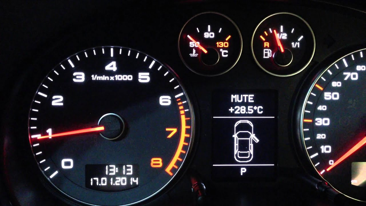 AUDI A3 TFSI ERRATIC/ROUGH IDLE ON COLD ENGINE START
