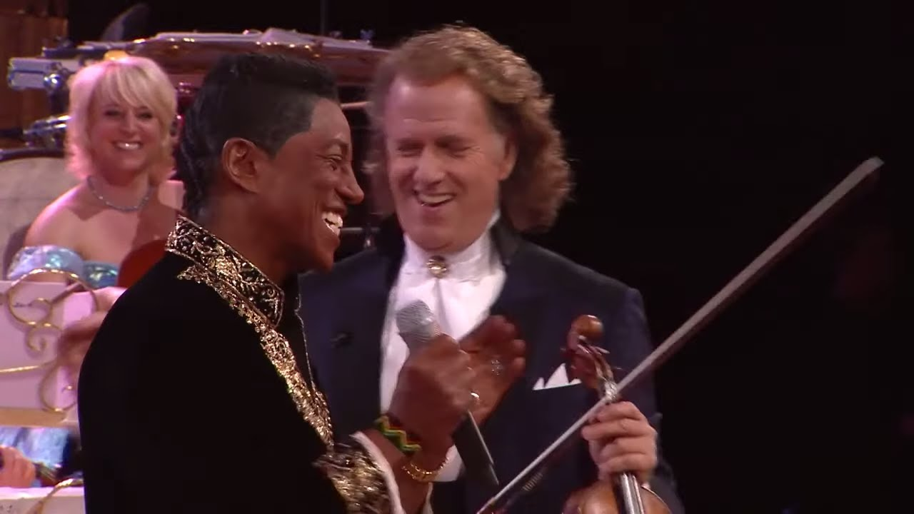 When The Rain Begins To Fall Jermaine Jackson Andre Rieu Youtube