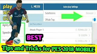Pes 2018 mobile 5 tips and tricks that you must know