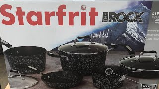 Unboxing my new Pots and Pans. The Rock series by Starfrit !!