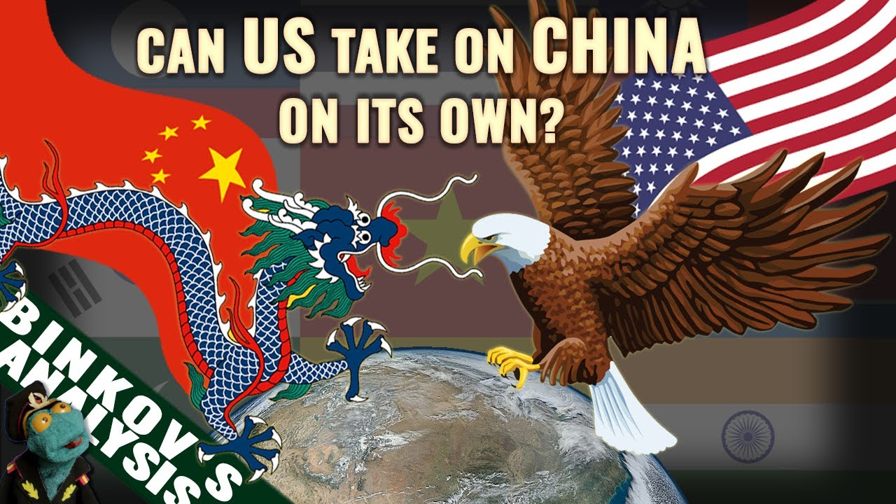 Would the US military need help from allies to crush China?