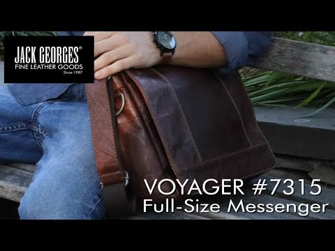 UNBOXED: Voyager Large Messenger Bag #7315
