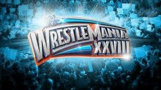 WWE Wrestlemania 28 theme song Invincible with lyrics