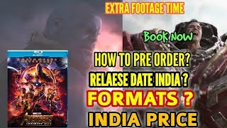 AVENGERS INFINITY WAR FULL MOVIE BLUE RAY RELEASE DATE | EXTRA FOOTAGE | INDIA PRICE | FORMAT | DATE