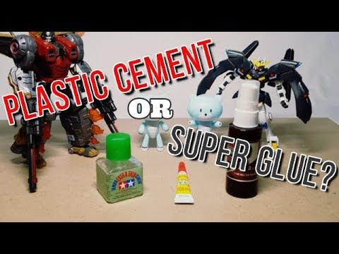 SHOKY BUILDER TIPS: Plastic Cement or Super Glue?