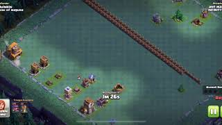 Clash of Clans Troll Base! He fell for the trap!
