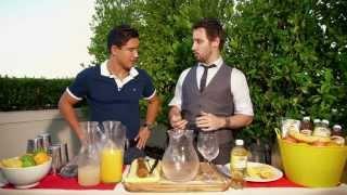 How To Make White Citrus Sangria With Mario Lopez