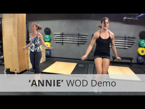 """ANNIE"" CrossFit WOD Demo - 5:33 Rx"